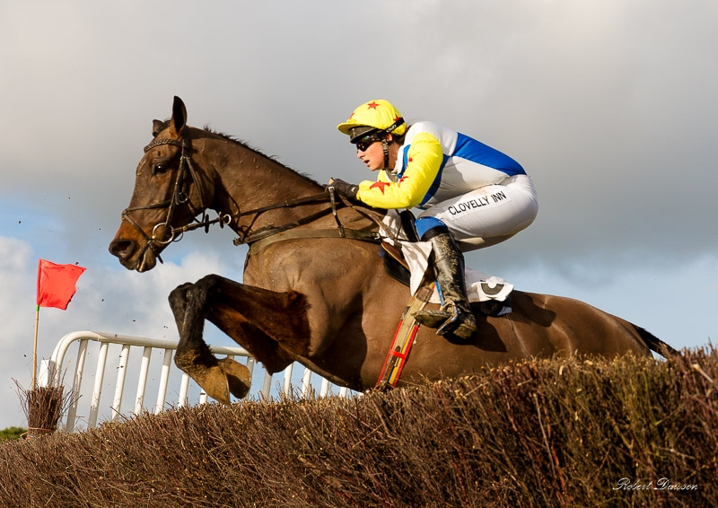 Point to Point Horse Racing photographed by Robert Dawson