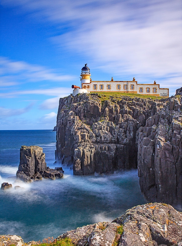 Gold Award - Neist Point Lighthouse photographed by Chris Stone