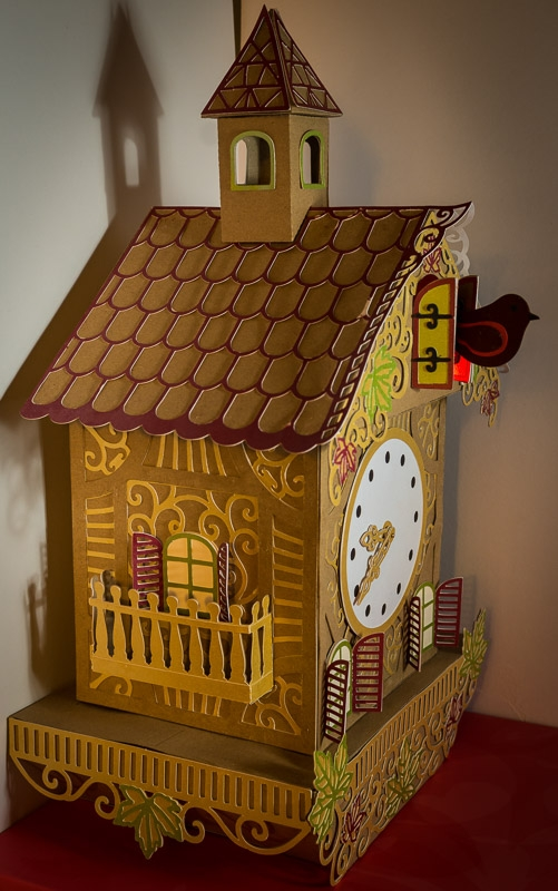 Cuckoo Clock photographed by Kelvin Pyke