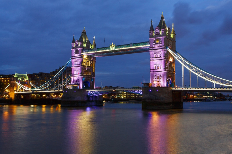 Silver Award - Tower Bridge photographed by Chris Stone