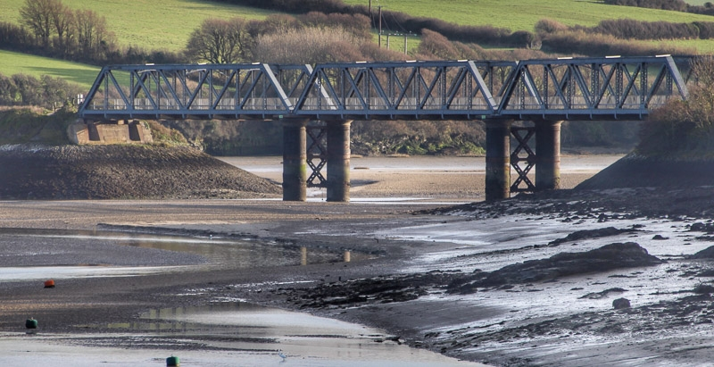 Silver Award - Padstow Rail Bridge photographed by Rose Cross