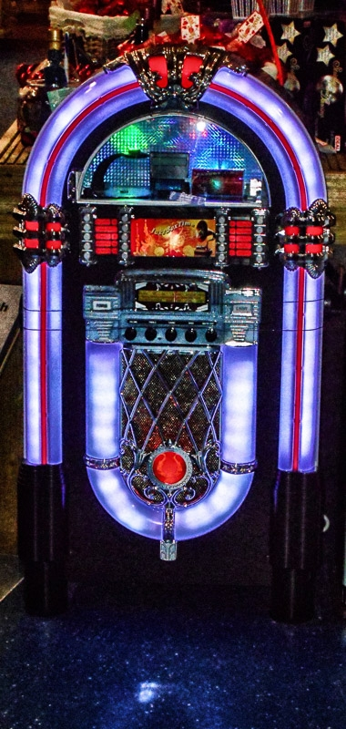 Jukebox photographed by Peter Newbery