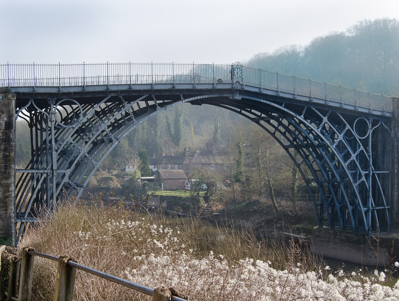 Highly Commended - Iron Bridge in Ironbridge photographed by Malcolm Haycox
