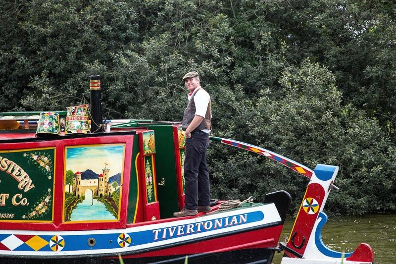 Highly Commended - Canal Boat photographed by Philip Saundry