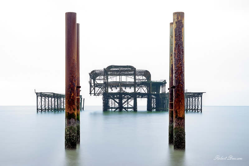 Brighton West Pier photographed by Robert Dawson