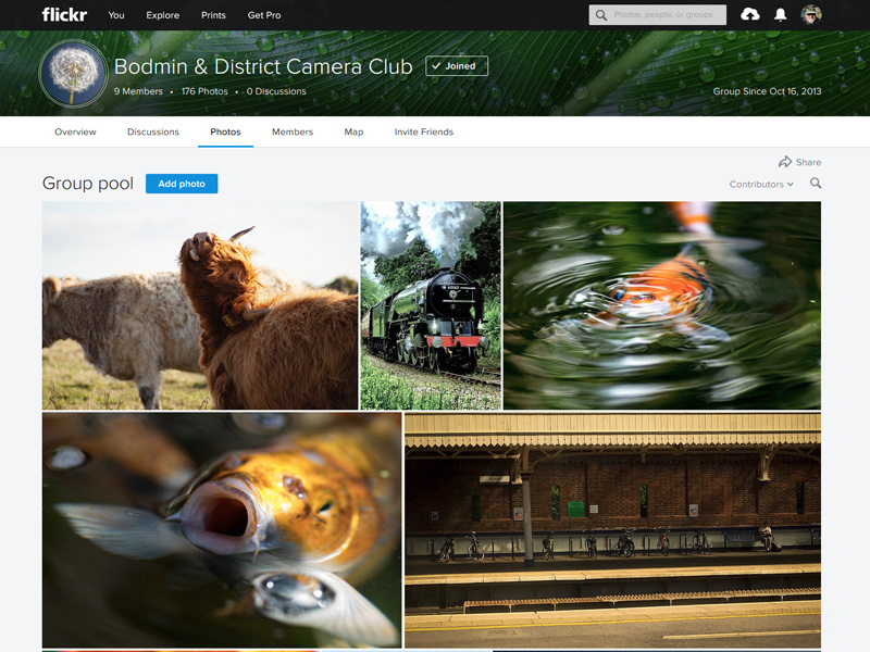 Camera Club Flickr Page